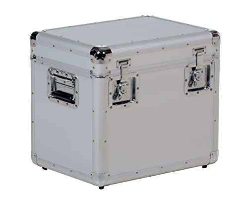Vestil CASE-S Small Aluminum Storage Case, 14.25 Length X 19 Width X 16.25 Height, 13 lbs.