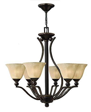 Amazon.com: Bolla Seis – Lámpara de techo de luz en níquel ...
