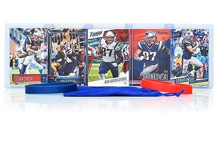 Rob Gronkowski (5) Assorted Football Cards Bundle - New England Patriots  Trading Cards 7e1808617