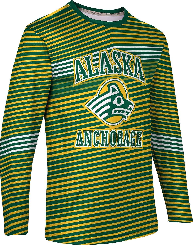 ProSphere University of Alaska Anchorage Mens Long Sleeve Tee Vector