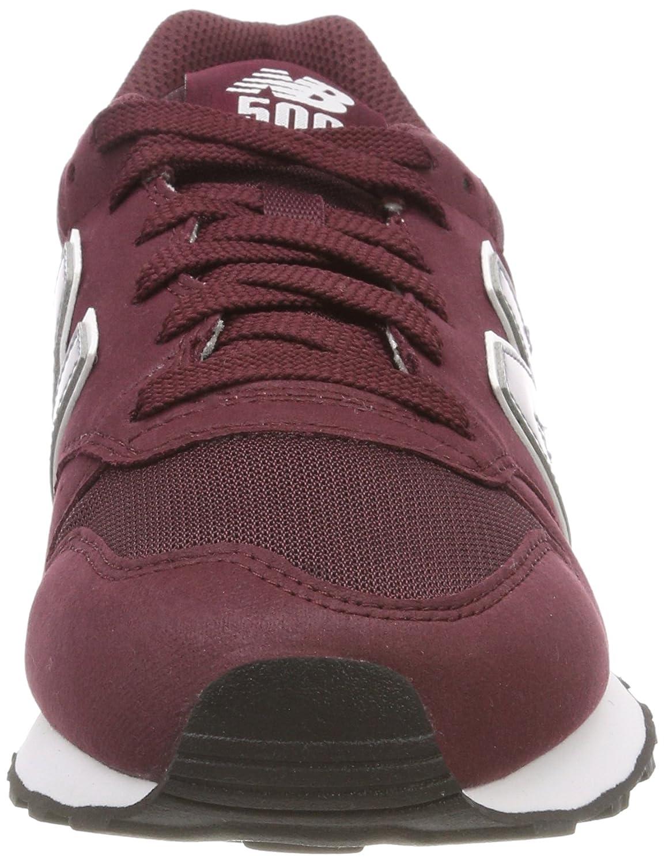 Uomo New Balance Rosso Sneaker 500 Ecd675b burgundy fqpwPRaq