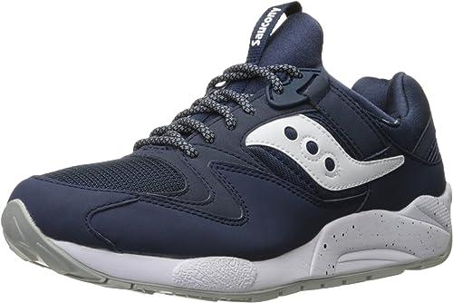 Mens Trainers Shoes Saucony Grid 9000 Mint Black Style