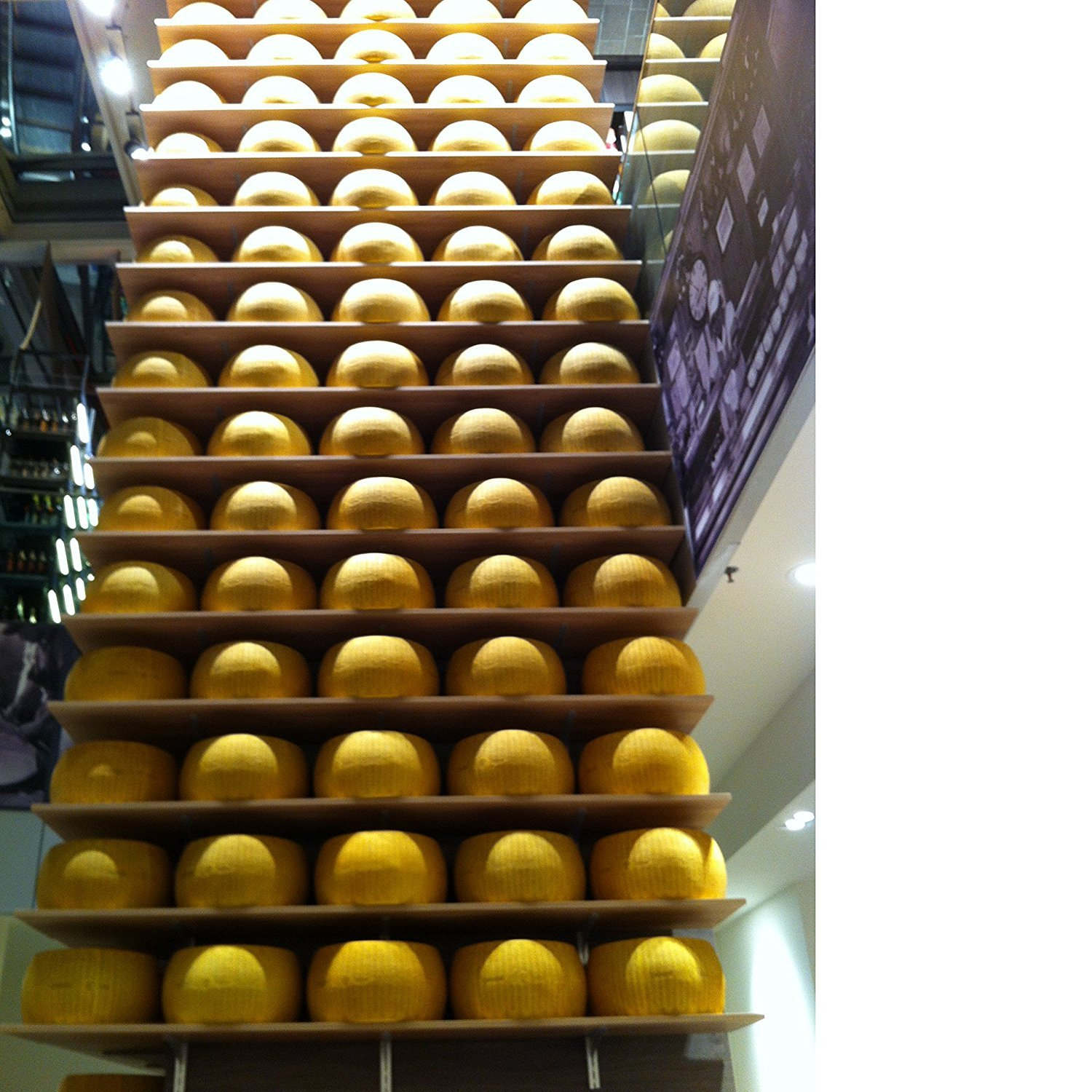 Parmigiano Reggiano PDO ''Saliceto'' from hill, Half wheel, seasoned 24 months, weighing.- 42 lbs by Parmigano Reggiano