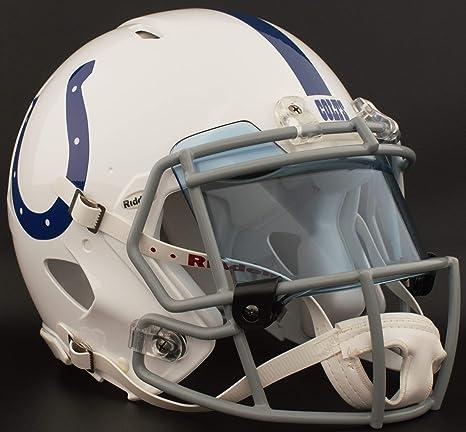 official photos 4e037 da4d0 Amazon.com : Riddell Indianapolis Colts NFL Authentic ...