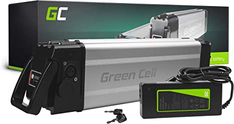 Green Cell GC® Bateria Bicicleta Electrica 24V 12Ah Silverfish Li-Ion E-Bike Batería y Cargador: Amazon.es: Deportes y aire libre
