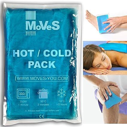 MSD - Gel frío/calor, 20 x 30 cm, doble uso, bolsa con hielo o ...