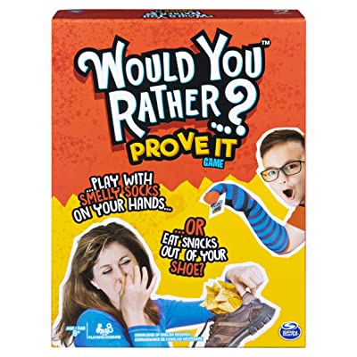 Would You Rather…? Prove It, Hilarious Family Game of Demented Dilemmas, for Ages 8 & Up: Toys & Games