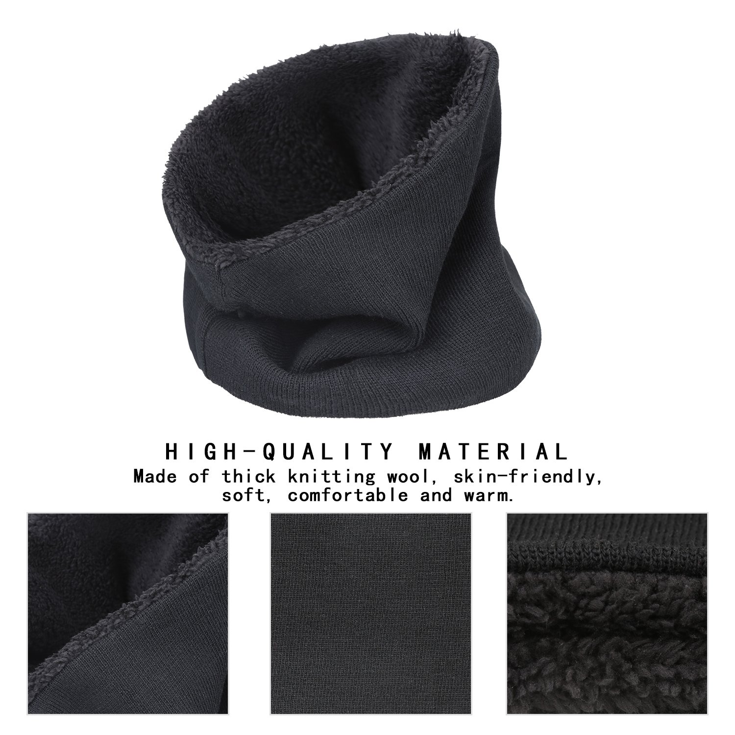 Trend Mark 2018 Fashion Winter Scarf For Women Men Children Baby Scarf Thickened Wool Collar Scarves Girls Boys Neck Scarf Cotton Unisex Terrific Value Apparel Accessories