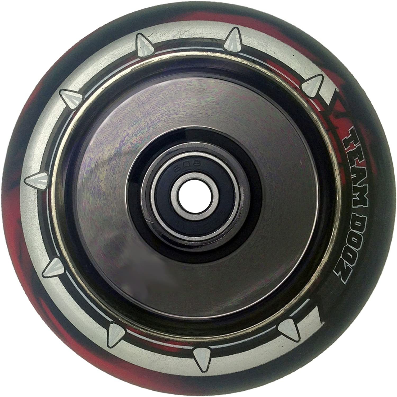 einzeln Team Dogz 100mm /& 110mm UFO hohl Kern Roller Rad ABEC11 passt auch f/ür MGP Stumpf Slamm Rasiermesser Crisp K/örnung usw.