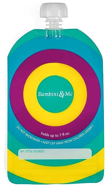 Amazon.com: Bolsa de comida para bebés reutilizable ...