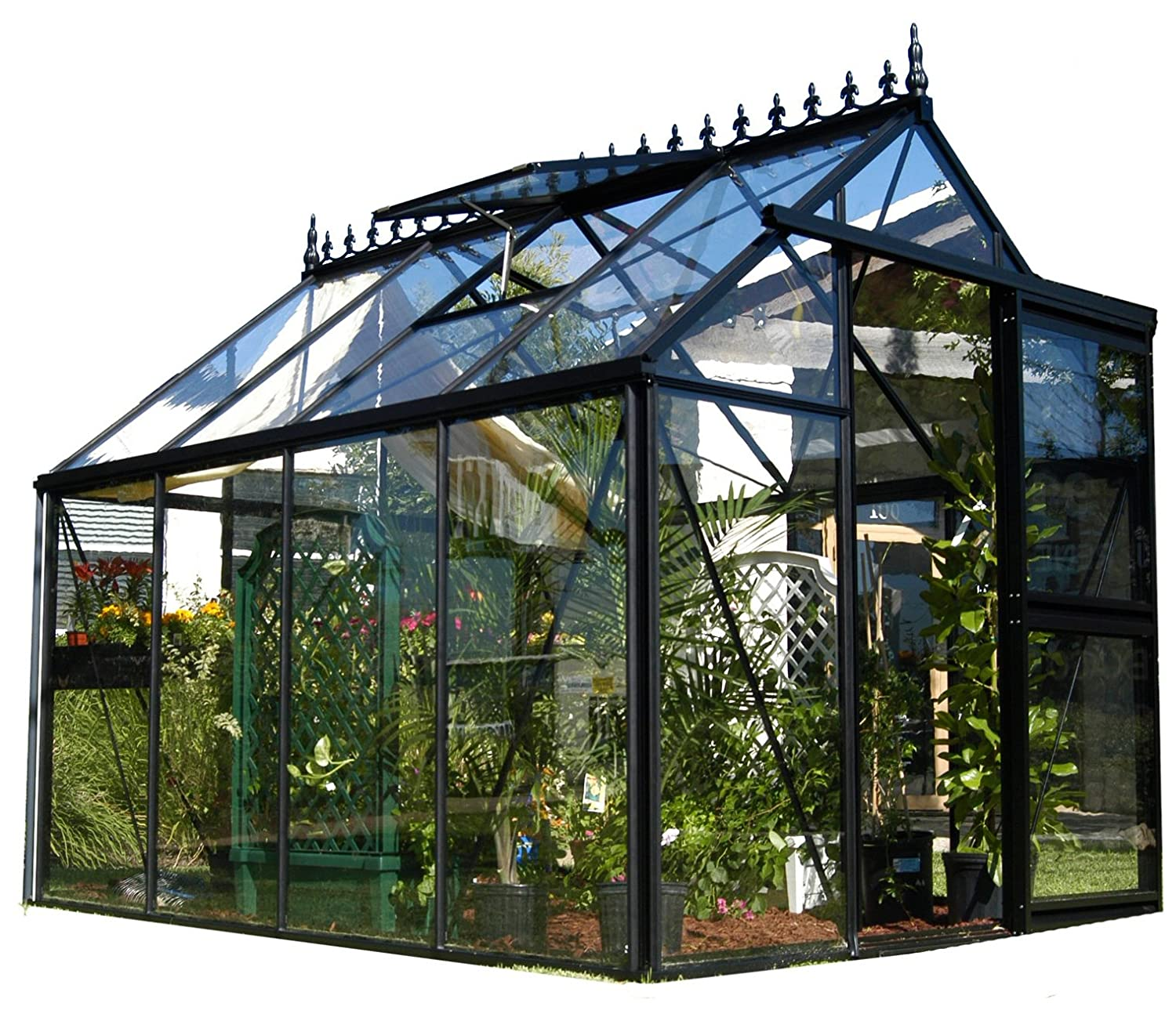Amazon.com : Exaco Junior Victorian J VIC 23 79 Square Foot Greenhouse :  Free Standing Greenhouses : Garden U0026 Outdoor