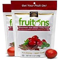 Traina Home Grown Fruitons Seasoned California Sun Dried Tomatoes and Italian Herbs...