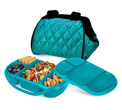 b674d25679 Amazon.com  Smart Planet Portion Perfect Puffer Bag Set