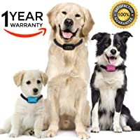 Advanced Intelligence Anti Bark Dog Collar. Stop Dogs Barking Sound & Vibration, Small & Large Dogs, No Shock, No Spray - Dog Bark Collar Canine Psychology E-Book