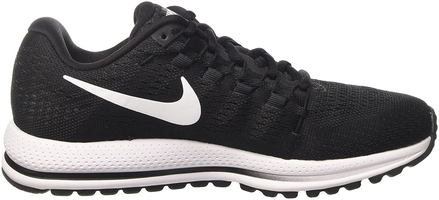NIKE Men's Air Zoom Vomero 12 Running Shoe B005A5DVJC 10.5 D(M) US|Black/White/Anthracite