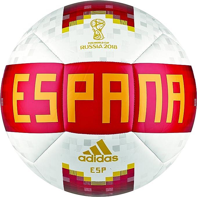 adidas OLP 18 Ball SPA Balón, Hombre, (Blanco/Rojo/dorfue), 5 ...