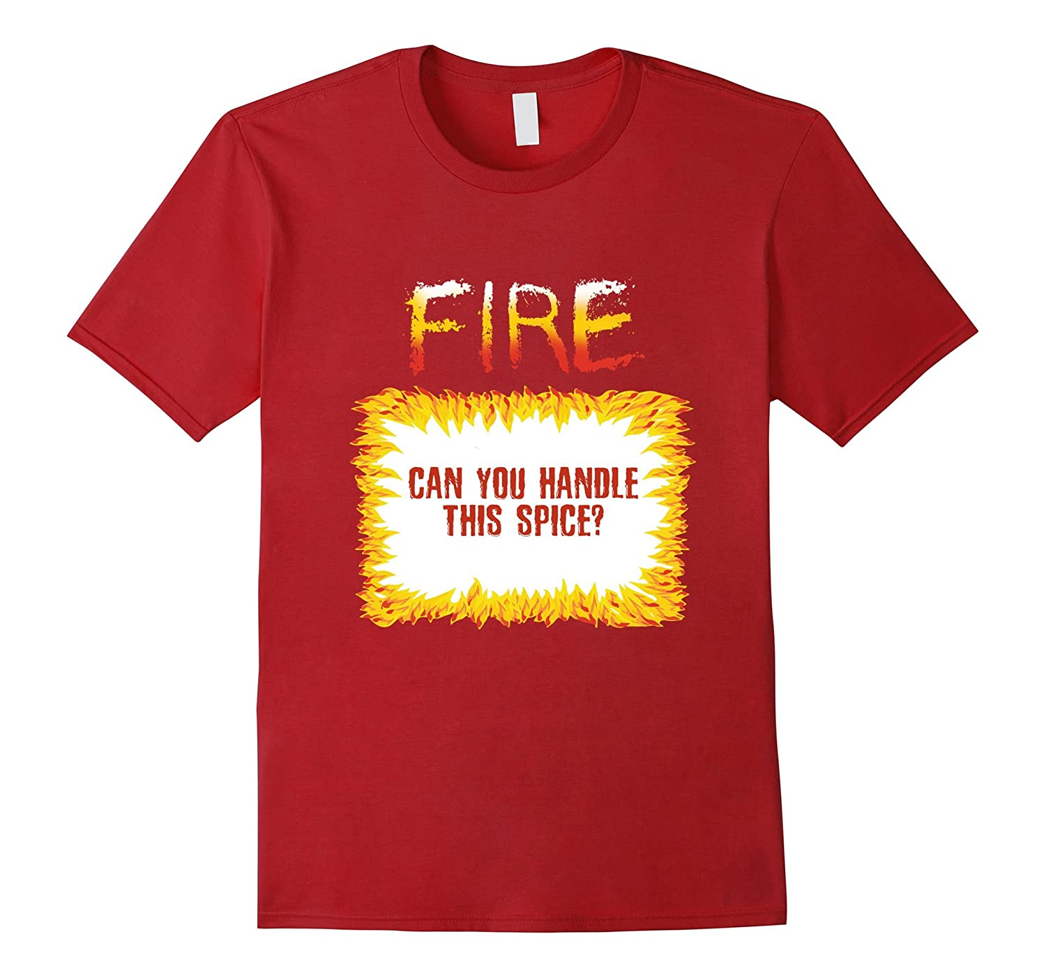 Fire Hot Sauce Packet Halloween T-Shirt-Art