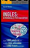 INGLES: APRENDIZAJE POR VIA RÁPIDA: Las 1000 palabras en inglés más utilizadas con 3.000 frases ejemplo (Spanish Edition)