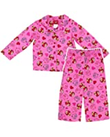 Angry Birds Pink Coat-Style Pajamas for Girls, sizes 4-10