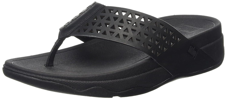 1270213a2268f9 Fitflop Women s s Leather Lattice Surfe Flip-Flop  Amazon.co.uk  Shoes    Bags