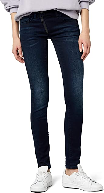 G STAR RAW Lynn Zip Mid Waist Skinny' Jeans Femme