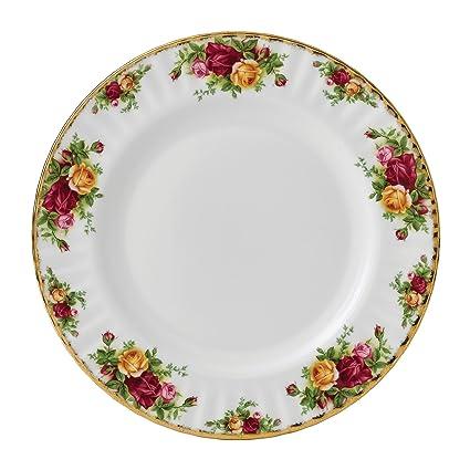 Royal Albert 15210006 Old Country Roses Dinner Plate  sc 1 st  Amazon.com & Amazon.com   Royal Albert 15210006 Old Country Roses Dinner Plate ...