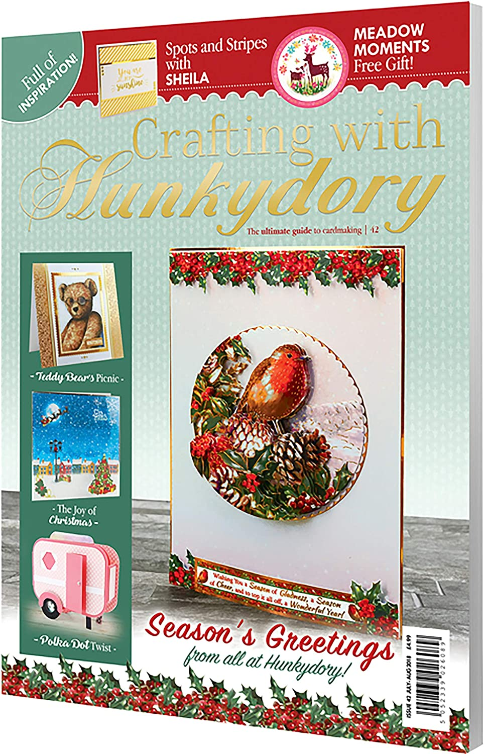 Crafting with Hunkydory 42 ~ Project Magazine ~ Ultimate Guide to Cardmaking