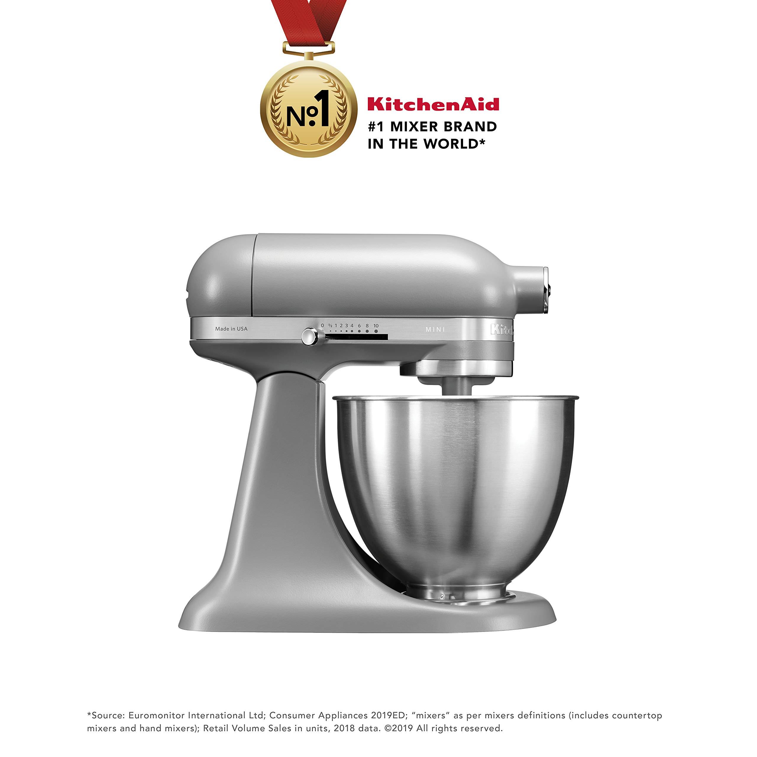 Kitchenaid Artisan Series 5ksm3311xbfg 250 Watt 3 3 Litre Mini Stand Mixer Matte Grey Buy Online In Faroe Islands At Faroe Desertcart Com Productid 75812480