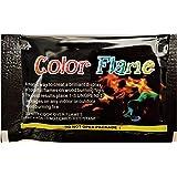 【焚き火をオーロラのような7色に】炎の色を変える Color Flame(カラーフレイム)4パックセット 日本語説明書付き