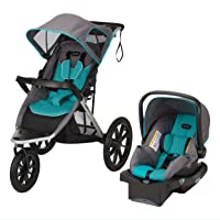 Evenflo Victory Plus Jogger Travel System Featuring The Litemax Infant Car Seat