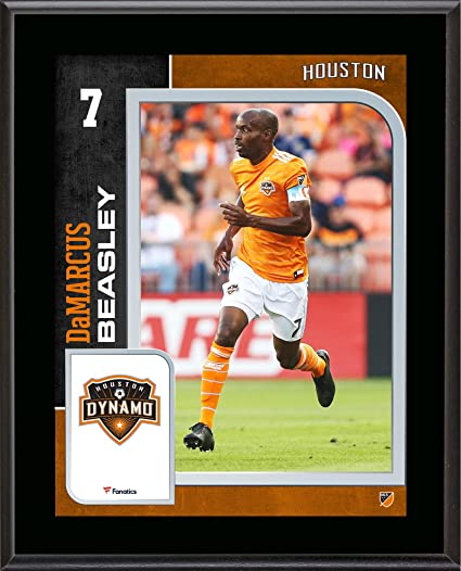 best sneakers ac508 69abc DaMarcus Beasley Houston Dynamo 10.5'' x 13'' Sublimated ...