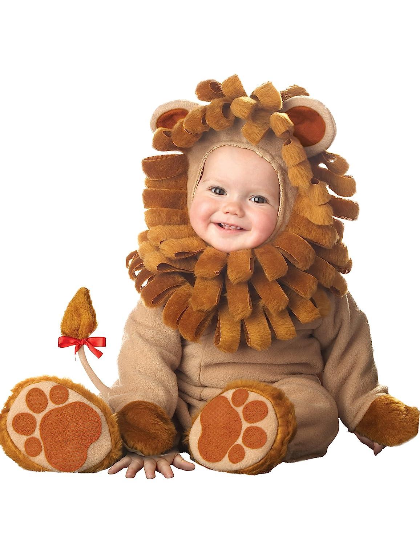 Generique - Deluxe Löwen-Kostüm für Babys mit schöner Mähne 68/80 (6-12 Monate)