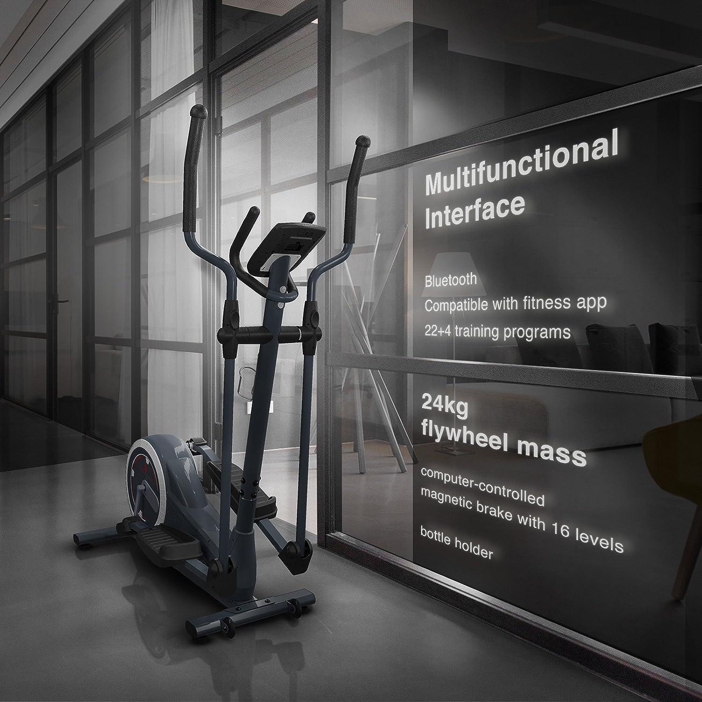 Sportstech CX625 Crosstrainer – Bicicleta elíptica de calidad ...