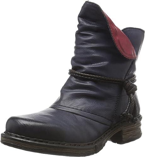Rieker Damen Z9961 Kurzschaft Stiefel