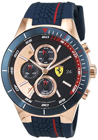 ecc359f6c Buy Scuderia Ferrari Chronograph Multi-Colour Dial Men's Watch - 0830297  Online at Low Prices in India - Amazon.in