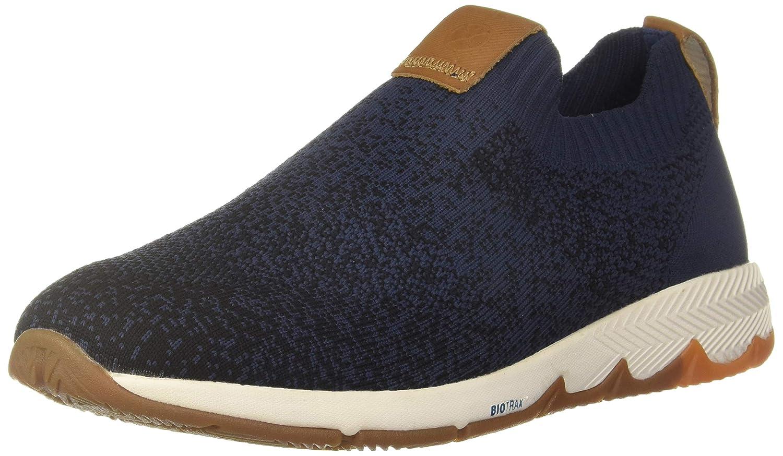Ts Field Knit Slip Blue Formal Shoes