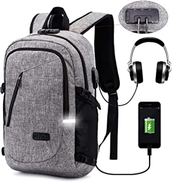 Laptop Backpack Anti Theft Travel Backpacks Waterproof WSQIWNI