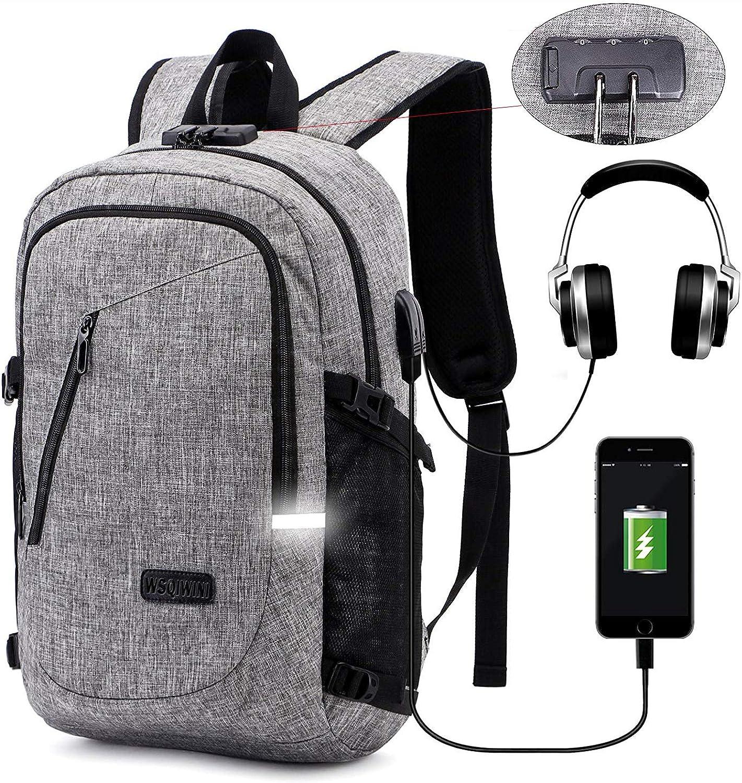 Laptop Backpack,Travel Backpacks for Men Women Anti Theft