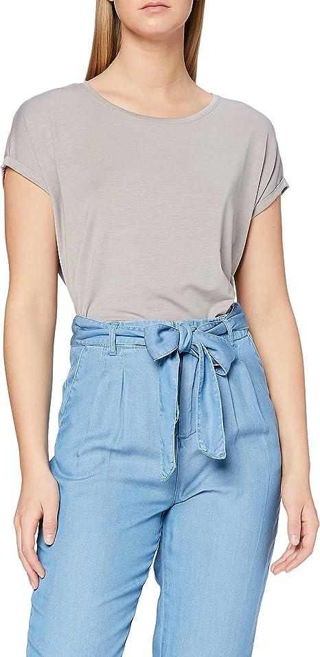 Vero Moda Vmava Plain Ss Top Ga Noos Camiseta para Mujer