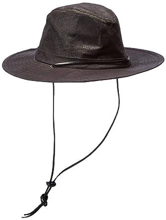 b8bc740c5 San Diego Hat Co. Men's Distressed Faux Suede Pinch Crown Fedora Hat ...