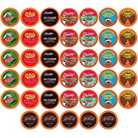 Two Rivers Coffee Chocolate Lovers Pods Single Serve Cups, Chocolate Coffee, 40 Count