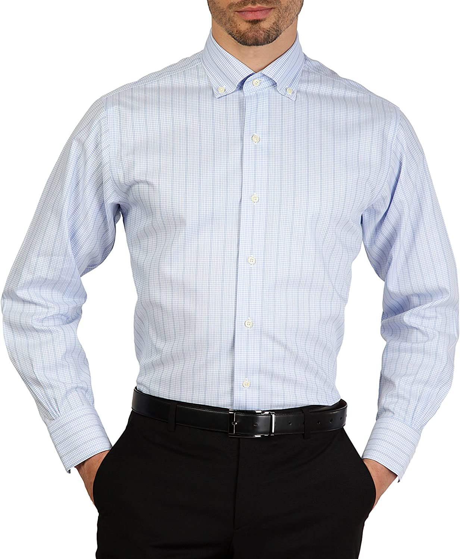 Camisa Brooks Brothers 100040503 AZZURRO azul slim - hombre