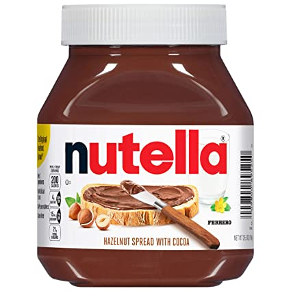 Amazon.com : Nutella Chocolate Hazelnut Spread, Perfect Topping for  Pancakes, 26.5 Oz (Pack of 1) : Hazelnut Spreads : Grocery & Gourmet Food