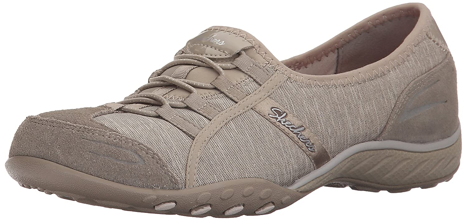 Skechers Damen Breathe-Easy Good Life Sneakers  38 EU|Beige