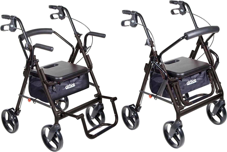 Amazon.com: Transporte dual silla/andador de Drive Medical ...