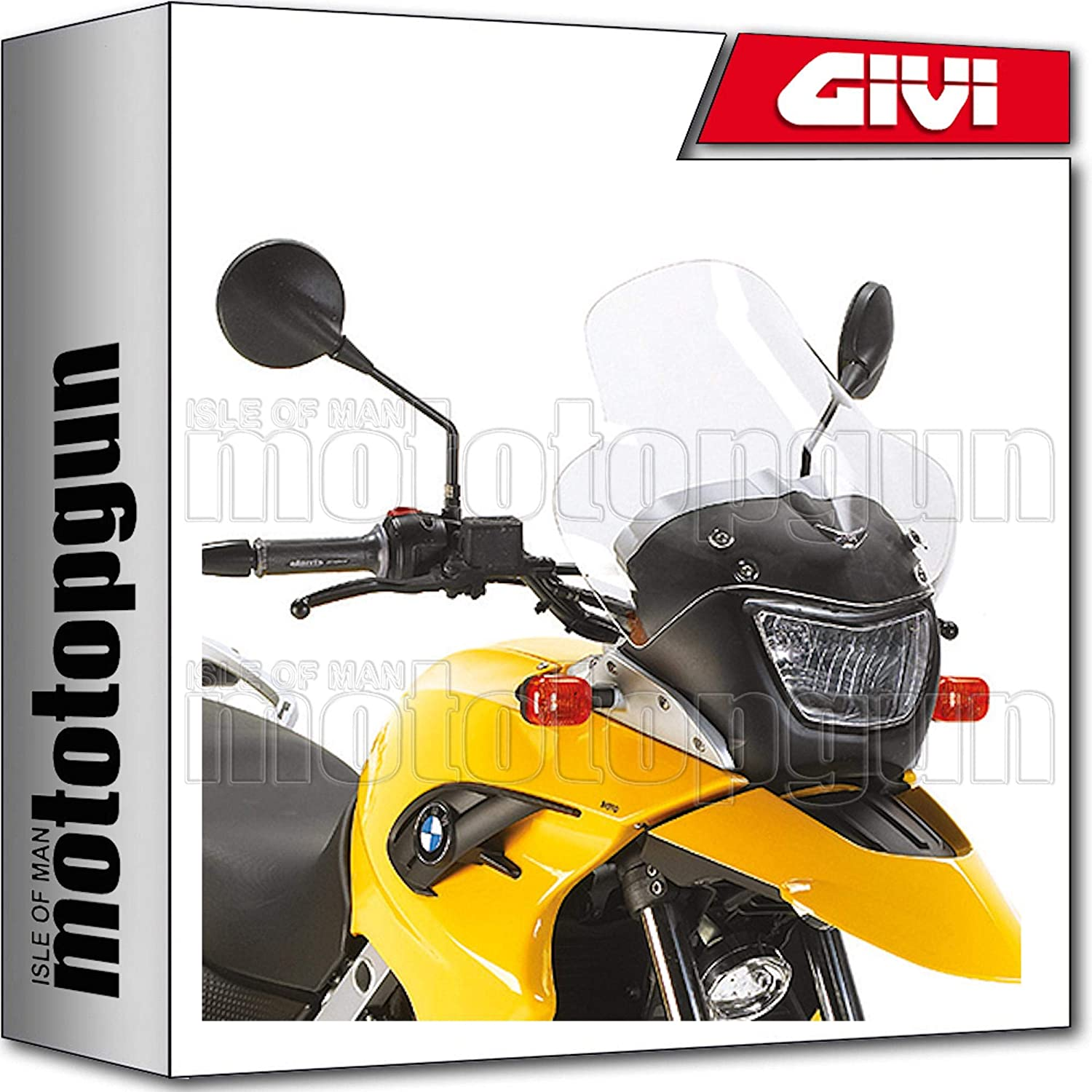 GIVI WINDSCHILD D331ST KOMPATIBEL MIT BMW F 650 GS 2004 04 2005 05 2006 06 2007 07