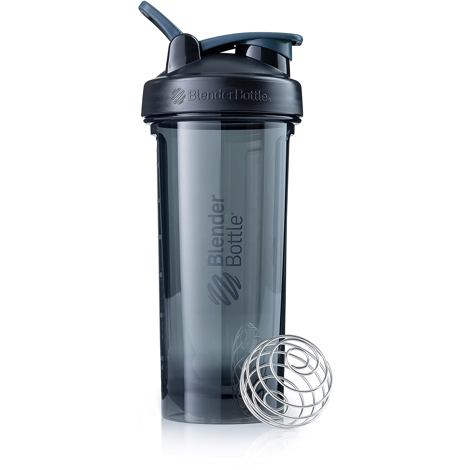 BlenderBottle Pro Series Shaker Bottle, 28-Ounce, Black
