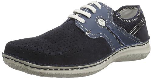 Josef SeibelAnvers 20 - Mocasines Hombre, Color Azul, Talla 39: Amazon.es: Zapatos y complementos
