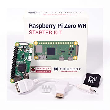 Melopero Raspberry Pi Zero Wh Starter Kit Amazon Co Uk Computers