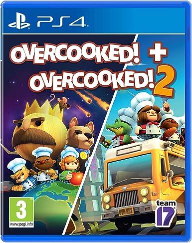 Pack: Οvercooked! + Overcooked! 2: Amazon.es: Videojuegos